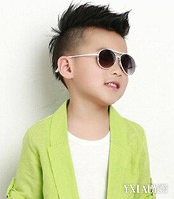 夏季儿童潮流短发发型图片 打造可爱小童星图片