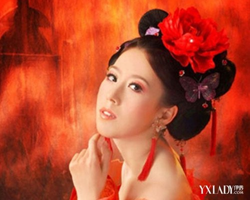 【图】唐朝妃子发型加图片 四款重返经典唐朝风
