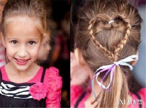 小女孩盘头发发型分享展示