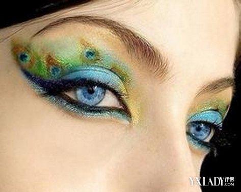 创意妆图片_创意眼妆彩妆简单图片_创意彩妆眼妆图片