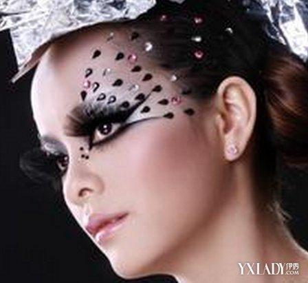 【图】彩妆创意妆面造型