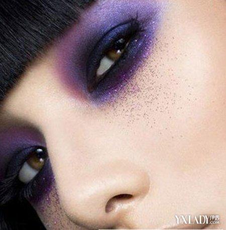 彩妆,永远是潮流界不可缺失的时尚元素,以脸部各个器官为描绘点将粉
