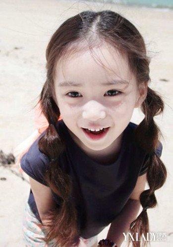 【图】揭晓女宝宝扎头发发型 超萌小女孩造型图