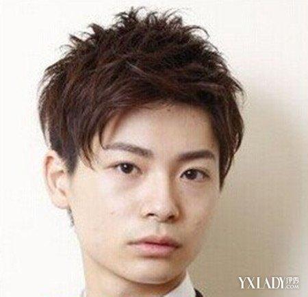 低额头男士短发型图片 清爽短发突显帅男魅力