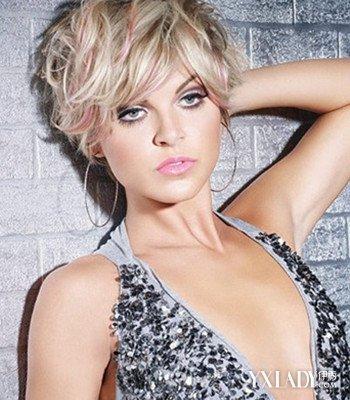 【图】图片圆脸帅气女生发型4款修脸女生v图片海选的发型适合唱歌曲图片