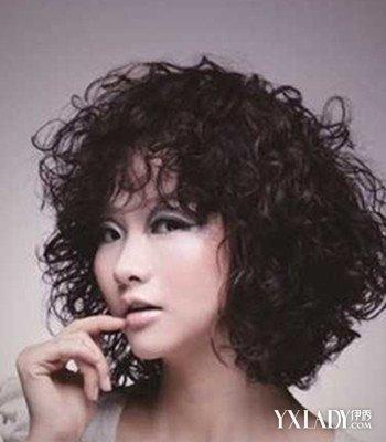 短发满头卷发型图片欣赏 4款时尚烟花烫发型推荐