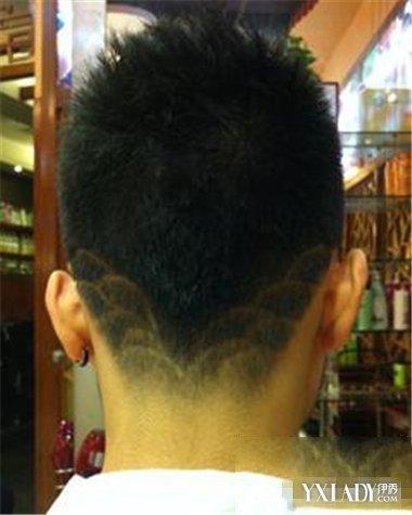男士霸气刻痕发型 时尚刻痕发型展现你的个人魅力图片