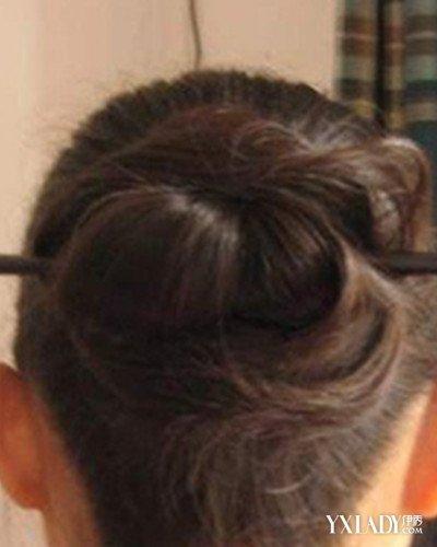 【图】怎么使用簪子盘发?图解簪子盘发教程公开 (400x500)图片