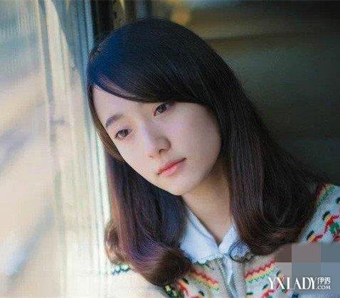 【图】发型长斜刘海内扣中长图片欣赏 爱美的你绝对不图片