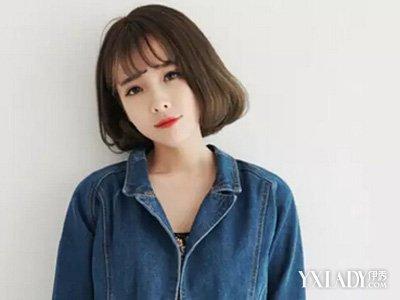 【图】推荐韩国空气斜刘海发型 diy打造个性刘海图片