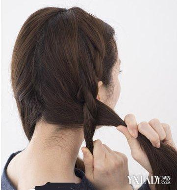 【图】两股编发教程图解 简单五步帮你打造清新发型