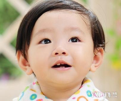 可爱宝宝发型男孩_短发烫发发型