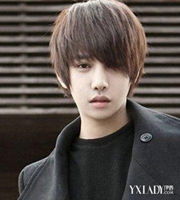 男生长发刘海发型 四款发型打造时尚型男图片