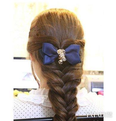 【图】多种编发图片分享 教你编出仙女范的韩式编发发型
