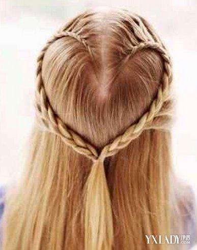 【图】看心形辫子发型图解 diy甜美发型图片