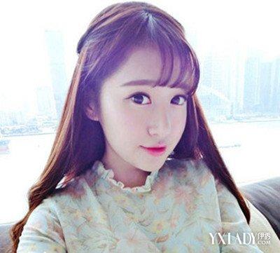 韩版刘海发型图片女欣赏 清纯少女风发型推荐图片