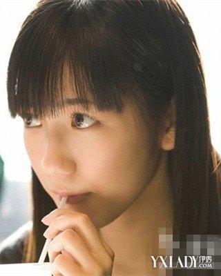 【图】日本人气齐刘海黑长直发型 六款发型任你挑图片