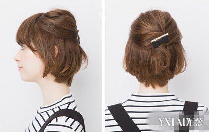 【图】超短发怎么扎简单好看