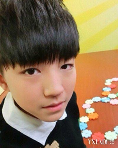 2015小男孩可爱发型图片图片