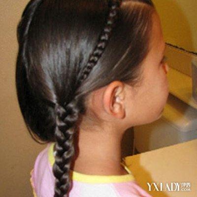 【图】女大童发型编发方法长发图片