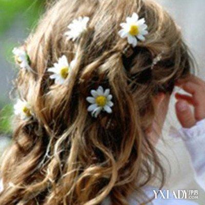 女大童造型编发方法图片发型七款盘头让你女儿童编发编发长发图片图片