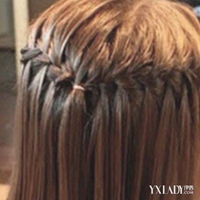 女大童发型烫发图片女士发型七款编发让你女2018年中年编发长发方法图片