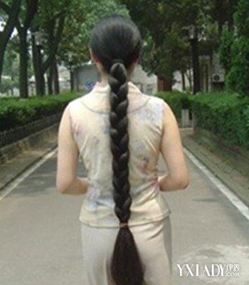 【图】大短发辫子图片欣赏4款好看的大长发发辫子感的少年图片