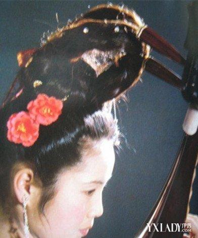 汉代未出阁女子发型分享展示