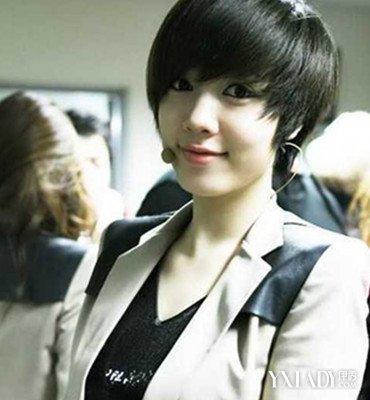 【图】女生帅气短发图片发型4种时尚简单介绍漂亮湖南一太女生图片