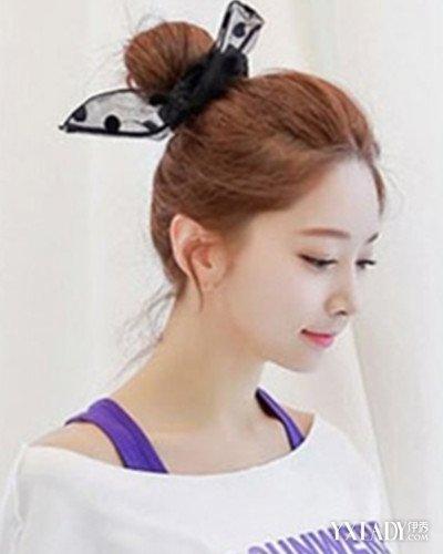【图】少女时代的丸子头马尾辫的扎法