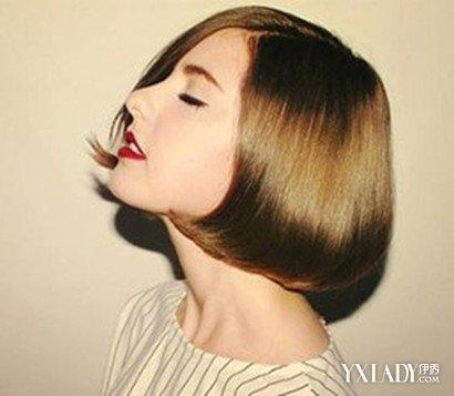 【图】时尚三七分波波头短发发型