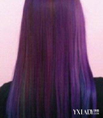 女生长发直发发型背影分享展示图片