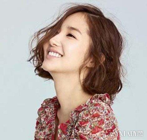 【图】女生短发韩式自然卷发型