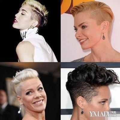 【图】女生剃两边短发发型帅气又潮流 3款让你与众不同中性味十足