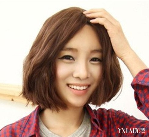 发型设计 韩式女烫发发型 > 2016韩范短发发型女 五款韩  2016韩范图片