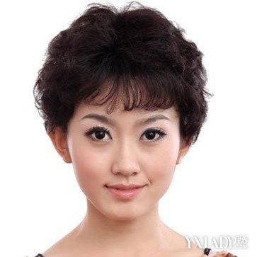 中年人发型女士图片欣赏 4款中年女性发型既减龄又时尚