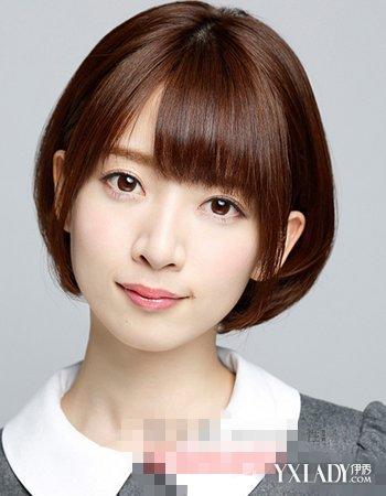 【图】齐刘海短发直发发型图片推荐 尽显短发淑女范
