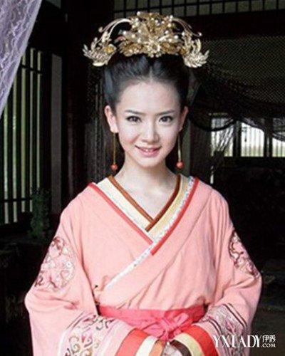 在很多的古装影视剧中的服饰发型,都是备受人们喜欢的汉朝发型妆容.图片