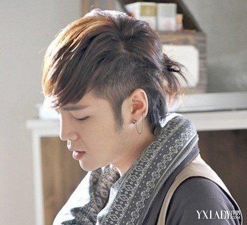 扎辫子男生发型图片 彰显时尚个性范图片