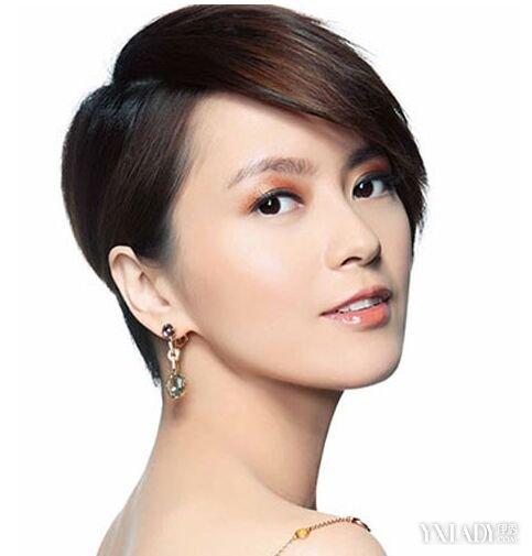 【图】女明星酷发型短发大全发型图片短发发夏季烫发图片