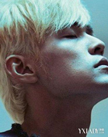 男人白发短发造型图片 盘点韩庚等男星引起的白发风潮图片