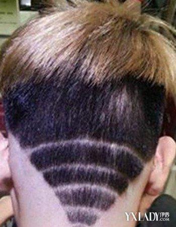 男士雕刻闪电发型图片 做一个时尚另类不一样的你