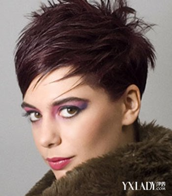 【图】女生中短碎发发型图片 时尚简单潮范十足图片