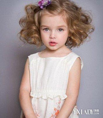 小女孩头发自然卷发型分享展示