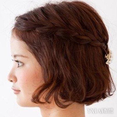 【图】最新短头发编织的花样图 六招教你玩花样的短发图片