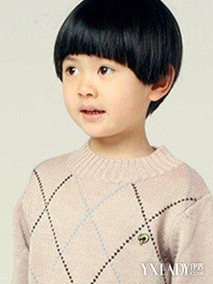 【图】揭蘑菇头短发发型图片小孩 四款发型萌感十足图片