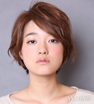 【图】方脸短发美女发型图片 轻松修颜胜过微