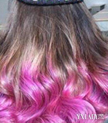 渐变色粉紫色染发图片欣赏 4款时尚染发来袭图片
