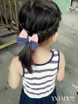【图】分享小朋友的发型扎法 四款发型让宝贝清凉一夏
