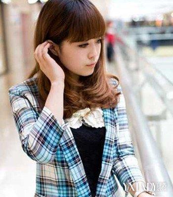 【图】韩国齐刘海内扣发型图片 助你告别脸型问题图片
